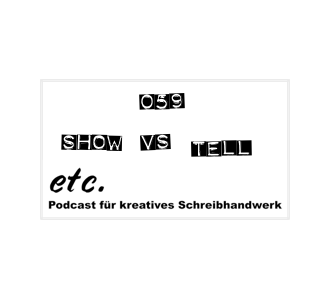 etc059: Show vs Tell