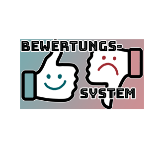Mein Bewertungssystem (Buchreviews)
