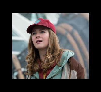 Die Teenagerin als Echter Mensch: A World Beyond
