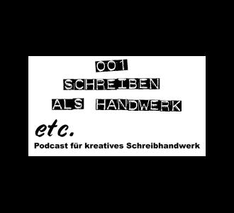 etc001: Schreiben als Handwerk