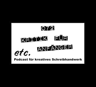 etc072: Kritik für Anfänger