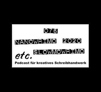 etc076: NaNoWriMo 2020