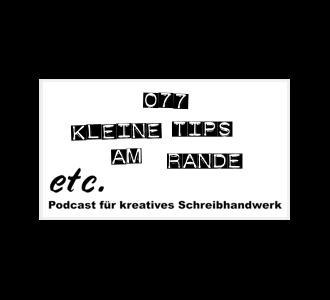 etc077: Kleine Tips am Rande