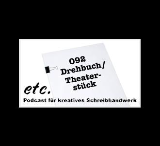 etc092: Drehbücher und Theaterstücke