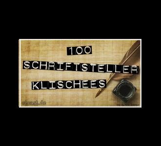 etc100: Schriftsteller-Klischees